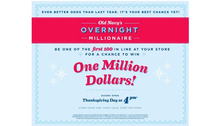 Old Navy Holiday Marketing campaign