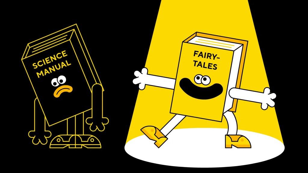 Cartoonbase_Scientific_Storytelling_VS_Fairy_Tales