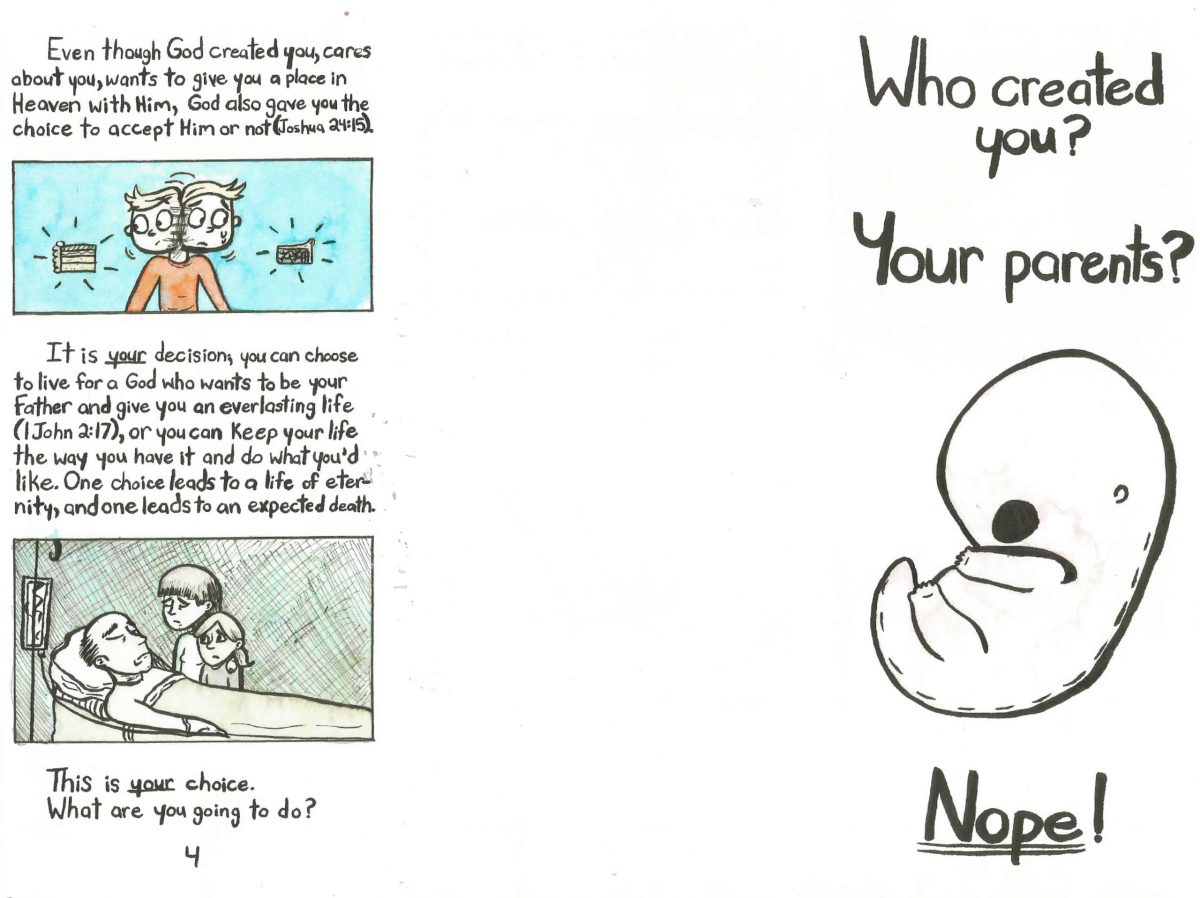 Who Created You? Page 1/2