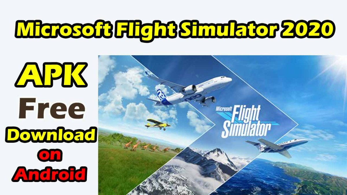 Download Microsoft flight Simulator 2020 APK on Android