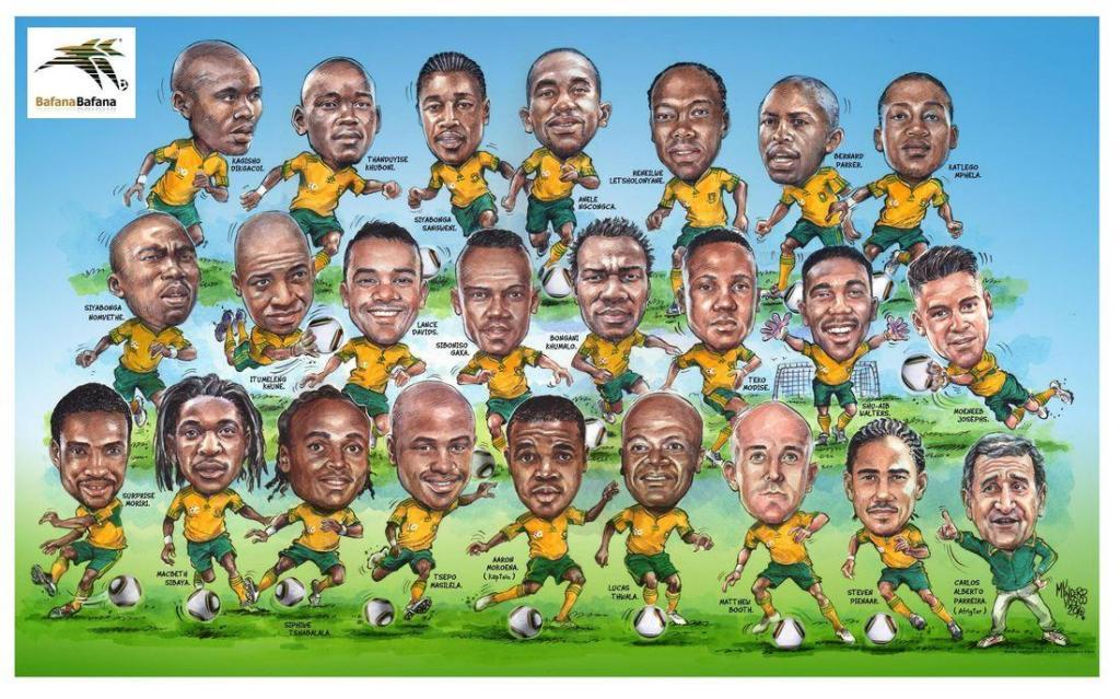 BafanaBafana20SWC2010Squad