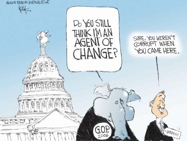 Image result for cartoons about gop corruption