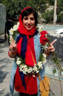 Atena Farghadani Freed From Prison May 3, 2016