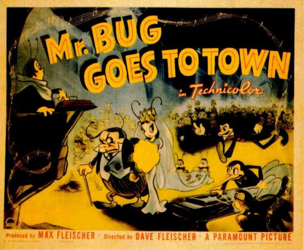 """Mr. Bug"""" and """"Hoppity"""" Go To Town -"""