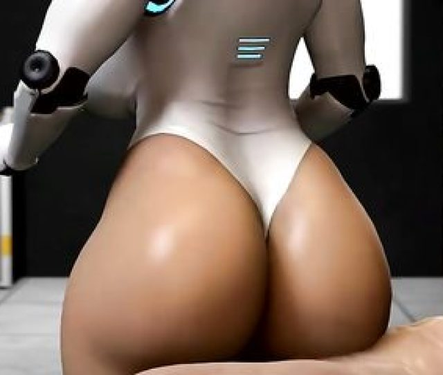 Female Robot With Big Bubble Butt Loves To Fuck