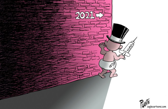 Looking ahead to 2021 by Bruce Plante, PoliticalCartoons.com
