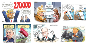Weekly Political Cartoons on CartoonState.com Nov 22, 2020