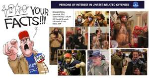 """MAGA Rioters wanted by D.C. Police as """"Persons of Interest"""""""