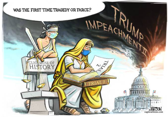 History Repeats at Senate Impeachment Trial by R.J. Matson, Portland, ME