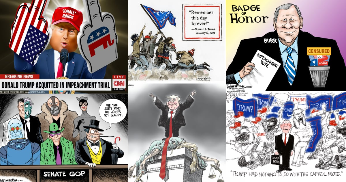 This Week in Political Cartoons – The Complete 2021 Impeachment Edition