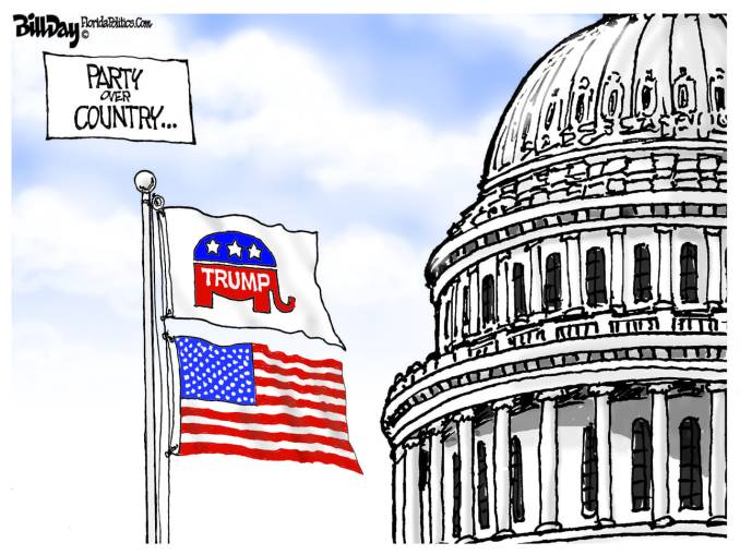 Party over Country by Bill Day, FloridaPolitics.com