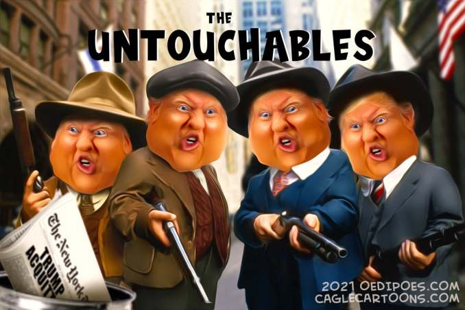 The Untouchables by Bart van Leeuwen, PoliticalCartoons.com