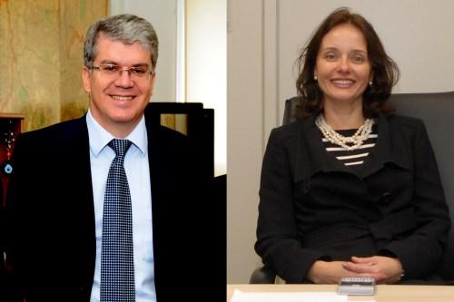 Francisco Ventura de Toledo e Patrícia Ferraz