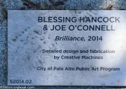 Dedication for the sculpture collection Brilliance, 2014, Palo Alto, CA