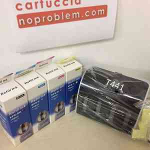KIT IN CONTINUO PER EPSON T441 + 400ML INCHIOSTRO