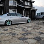 Stance Bmw 320d E90 Cartuning Best Car Tuning Photos From All The World