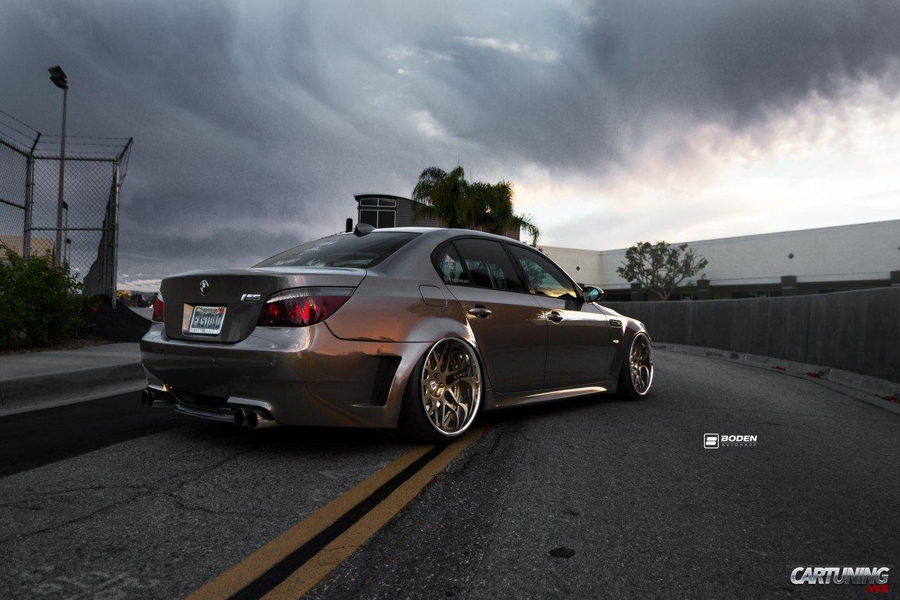 Tuning BMW M5 E60 Rear