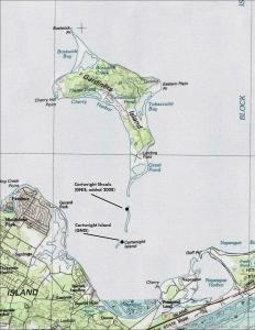 Early Nautical Chart from U.S. Geological Survey