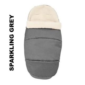 Salopeta de iarna Footmuff 2 in 1 Maxi Cosi Sparkling Grey