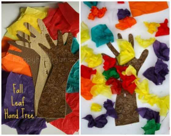 6 nápadů na tvoření podzimních stromů s předškoláky (3)