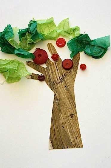 6 nápadů na tvoření podzimních stromů s předškoláky (5)