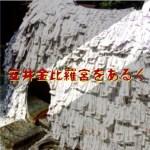 ブログの安井金比羅宮の記事用アイキャッチ画像