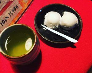 北野天満宮名物の長五郎餅
