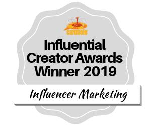 Influencer Marketing Agency - Carusele - Award winning influencers for 2019
