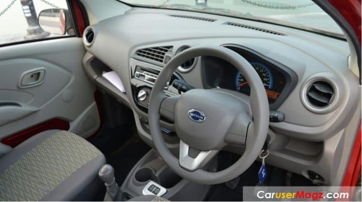 Dashboard Datsun Redi Go