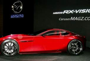 Mobil Konsep Mazda RX-Vision bermesin Rotary