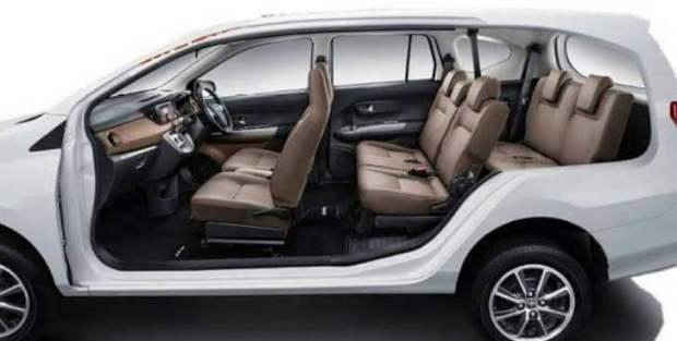Interior Toyota Cayla - Daihatsu Sigra