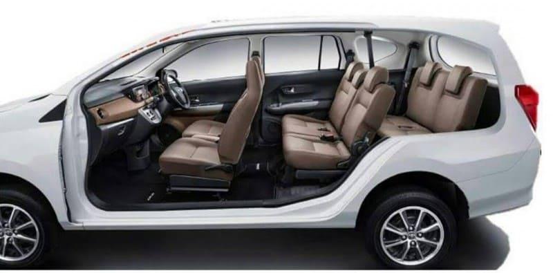 Interior Toyota Cayla