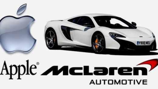 McLaren dibeli Apple