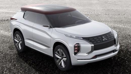 Mitsubishi GT-PHEV Front top
