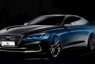 Hyundai Azera 2017 design front