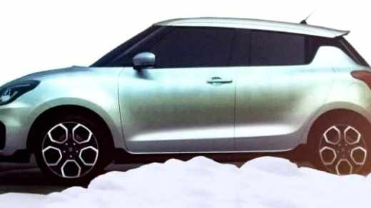 All New Suzuki Swift 2017 - side