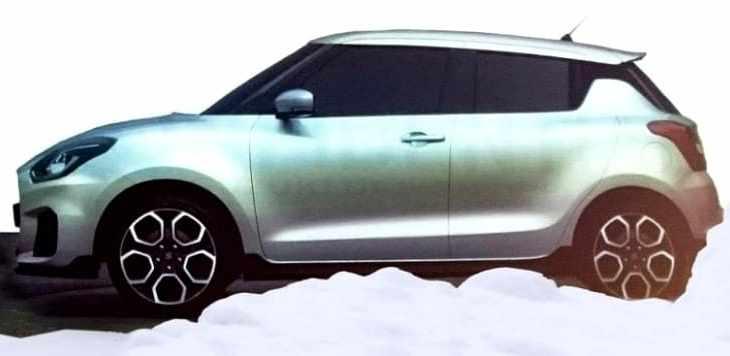 All New Suzuki Swift 2017 - side