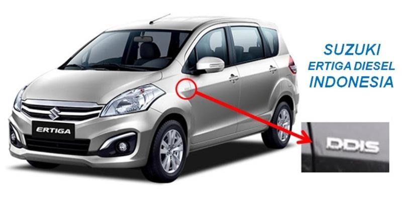Ertiga Diesel Indonesia - Penampakan