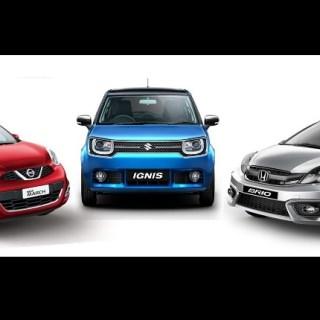 Perbandingan performa mesin dan tenaga Small Hatchback Indonesia