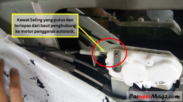 Autolock Central Lock Pintu Mobil Tidak Berfungsi Ini Salah Satu