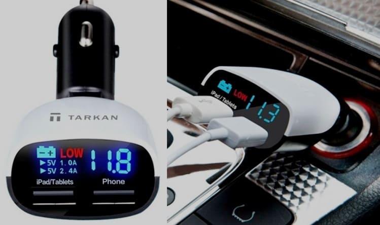 Charger HP Mobil Baca Voltase Batere Mobil