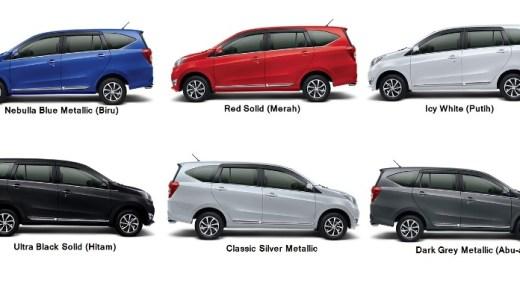 Pilihan Warna Daihatsu Sigra