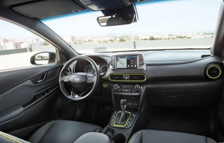 Interior Hyundai Kona - Dashboard