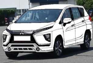 Garis Eksterior Mitsubishi Xpander
