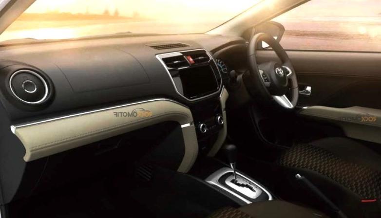 Interior Toyota All New Rush 2018 - Dashboard