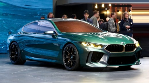 BMW M8 Gran Coupe Concept - Geneva 2018