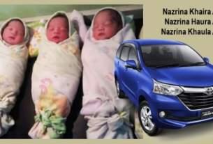 Bayi Kembar 3 Dinamai Avanza