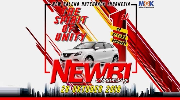 NEWBI 1st Anniversary - Komunitas New Baleno Hatchback Indonesia