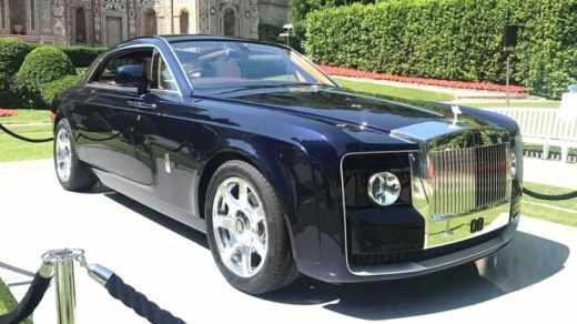 Rolls Royce Sweptail 08 - Mobil Termahal di Dunia
