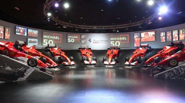 Museum Ferrari gelar michael_50 - Rayakan 50 Tahun Michael Schumacher